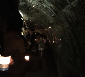 Iwaya caves: Exploring Enoshima island by candlelight. ~ Rony Ballouz