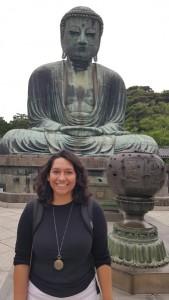 Daibutsu during the Kamakura day trip.