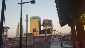My housing is just a short walk down the road from Asakusa!