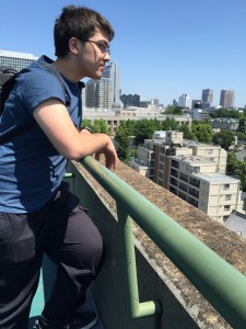 One last look at Azabu-Juban from the Sanuki Club roof. This place has been good to us. Thanks to Rony for the photo. - Daniel Gilmore