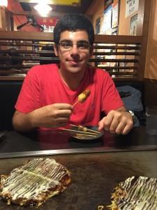 A taste of Osaka. Thanks for visiting, Youssef! ~ Daniel Gilmore