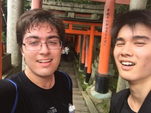 We did… something… I think… (233m from the top of Fushimi Inari)