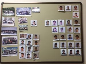 pictures of the lab members/hierarchy. - Mayssa Gregoire