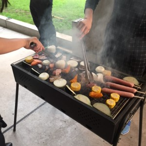 4th of July BBQ Japanese style. ~ Mayssa Gregoire