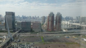 View From Odaiba Ferris Wheel. You can vaguely see Tokyo Tower. - Benjamin Kaiser