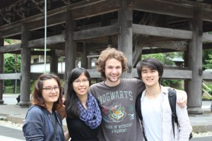 Exploring Kamakura with my fellow students from Japanese Class 3