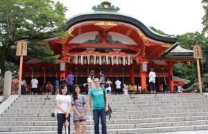 Visiting Fushimi Inari with Labmates (Kyoto) ~ Erica Lin