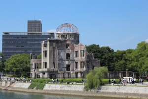 A-Bomb Dome -- A truly humbling experience in Hiroshima. ~ Erica Lin