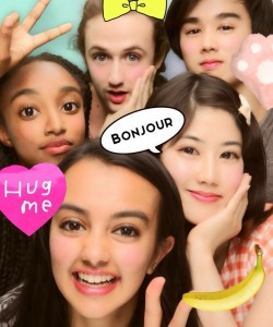 Furyu Puri Photo Booth, Shibuya: Took some funny pictures with one of the KIP students