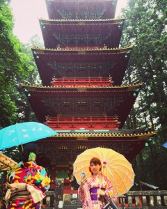 Toshogu, Nikko: Went to the shrines with my sister and cousin, who are in Japan for a vacation and to visit me. ~ Shweta Modi