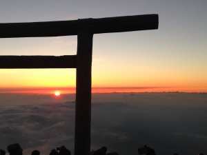 Mount Fuji: The view at the summit. ~ Shweta Modi