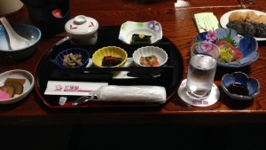 From the Konbini to Kaiseki – I've wanted to try Kaiseki for a long time in the U.S. but it tends to be pricey since it is considered to be haute cuisine. I'm not sure if I'm the most refined consumer of Kaiseki considering most of my diet since coming to Japan has consisted of konbini food. Either way, it was delicious! - Chandni Rana