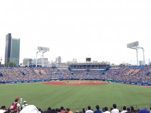 Yakult Swallows vs. Orix Buffaloes – This was my and a few other fellows' first baseball game. Ever. Even though we didn't fully understand all of what was going on, it was a fun experience. Brianna and I did our best to keep up with the cheers though I'm pretty sure we cheered for the wrong team for a while. - Chandni Rana