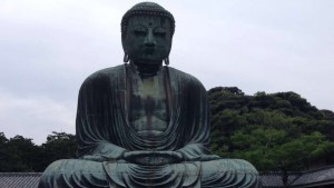 Kamakura Daibutsu – One of the cool things we saw on our trip to Kamakura was this giant statue of the Amida Buddha. - Chandni Rana