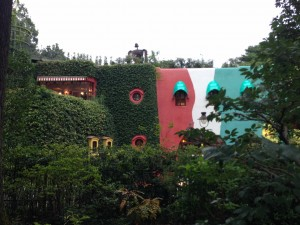 Studio Ghibli Museum: After buying my ticket almost over a month ago, I finally got to see the Ghibli museum! They don't let you take any photos inside, but it's just as beautiful from the outside. ~ Chandni Rana