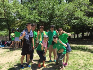 The annual Minoh River clean up event hosted by Osaka University's environmental club, GECS. Group 9 always! (Ron, Newton, Fumifumi, Riri, + more) ~ Donald Swen