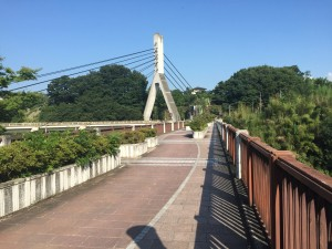 Chichibu Bridge: On the weekend I visited Chichibu City in Saitama prefecture. This is the town the Anohana anime takes place in, and it was impressive to see how accurately the show represented the city. Certain landmarks, like this bridge, were very recognizable. ~ Youssef Tobah