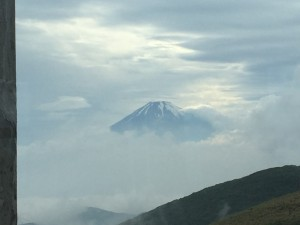 Mount Fuji: I saw this view not when we went to climb Mount Fuji, but back from when I went to Hakone. I did not include the photo back then, but it felt appropriate now since I actually went and climbed the mountain. ~ Youssef Tobah