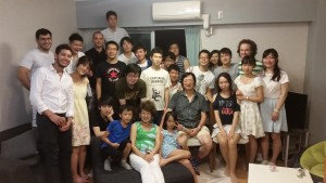 I went to Oda-sensei's annual summer party. Oda-sensei is a professor at Tokyo Tech whose office in on the same floor as Kawano-sensei who is an associate professor. A lot of people from both lab groups showed up, and we had a great time. ~ Nickolas Walling