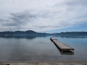Lake Tazawa: Beautiful view of the lake.