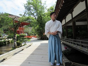 Kamigamo jinja: Experiences that very few foreigners are fortunate enough to receive. ~ Sasha Yamada