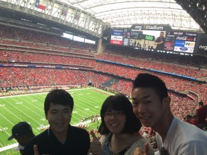 At the University of Houston College Football Season Opening Game ~ Nobuyoshi HIramatsu
