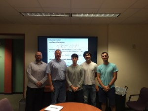 All Heinkenschloss lab. Experts and one novice of optimization. Good meeting makes good results! ~ Takuya Kurihana