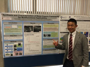 Final Poster Presentation Enjoyed myself to introduce my research during this program at the RCQM colloquium. ~ Toshihiro Takada