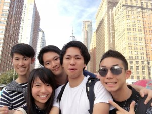 Sightseeing in NY--- At the Battery Park ~ Yunong Wang