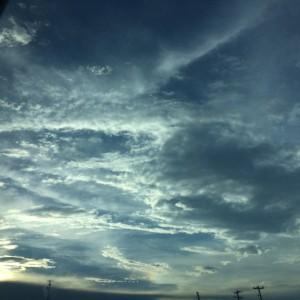 Beautiful sky in Houston. ~ Ayaka Yoshida