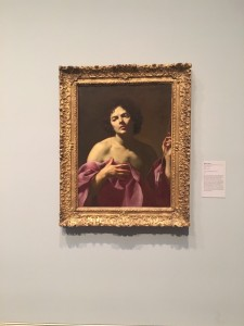 At the Museum of Fine Arts Houston. My friend says the person in the picture resembles me in face. ~ Ayaka Yoshida