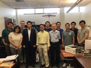 My lab-mates. They are really nice and smart people. ~ Ayaka Yoshida