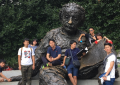 The 2016 Nakatani RIES Japanese Fellows 'meeting' Albert Einstein in Washington, DC