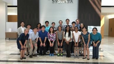 2016 Nakatani RIES U.S. Fellows Visit Sysmex Corporation in Kobe, Japan.