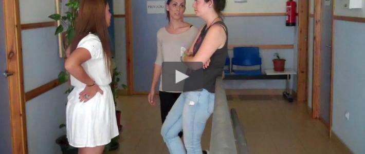 Spanish Girls Interaction: University Life