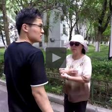 Asking for direction in Nanjing University