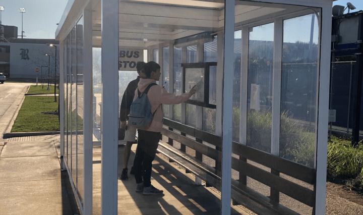 Rice University Bus Shelter