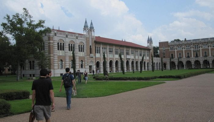 Keck Hall, Rice University