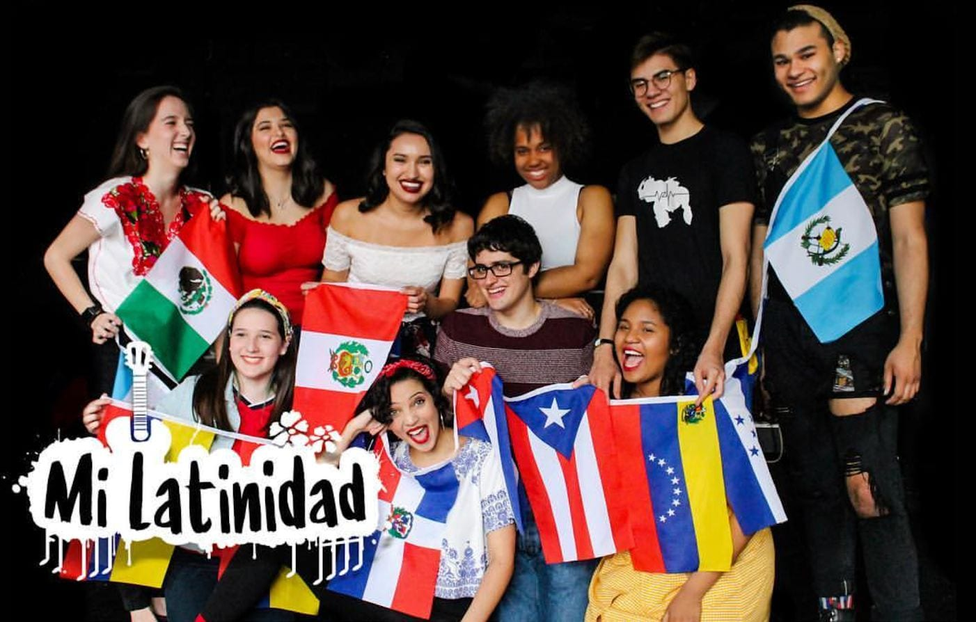 The 2018 Cast of Mi Latinidad Photograph by Nic Mains