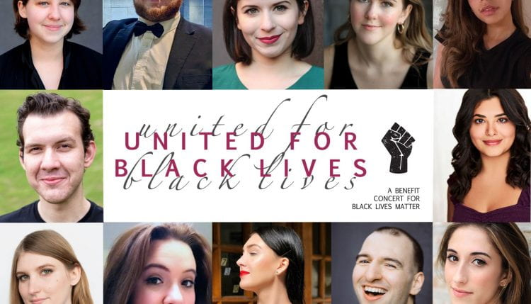 United for Black Lives headshot poster
