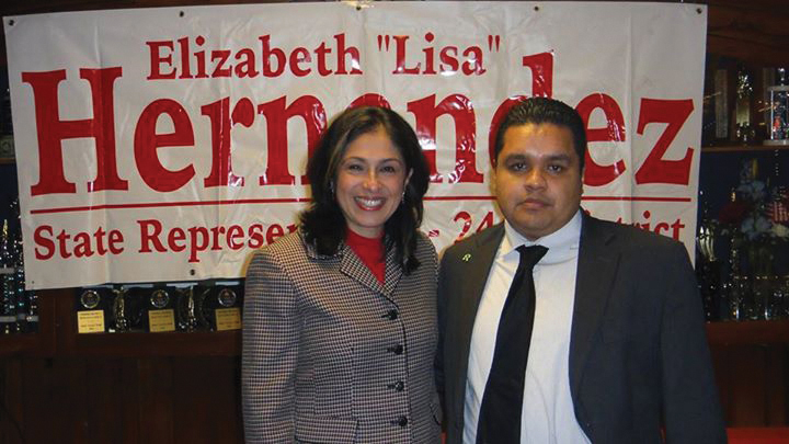 Gerardo Ramirez and State Representative Elizabeth Lisa Hernandez