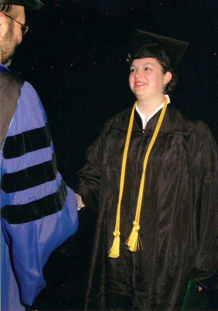 Amanda Wornhoff Graduation