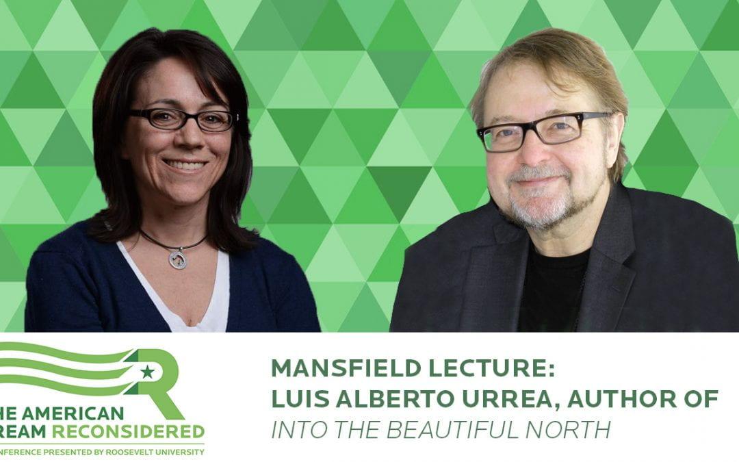 Mansfield Lecture: Luis Alberto Urrea