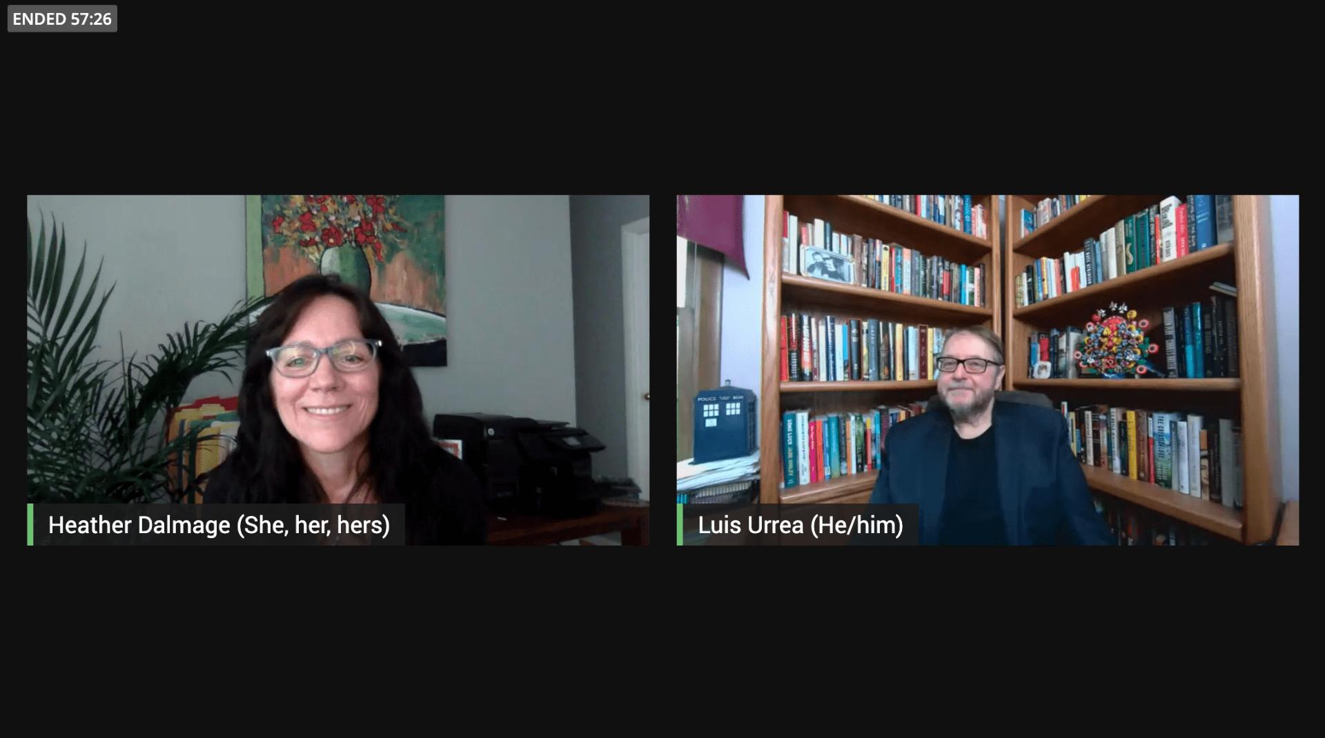 Mansfield Lecture with Luis Alberto Urrea - Discussion