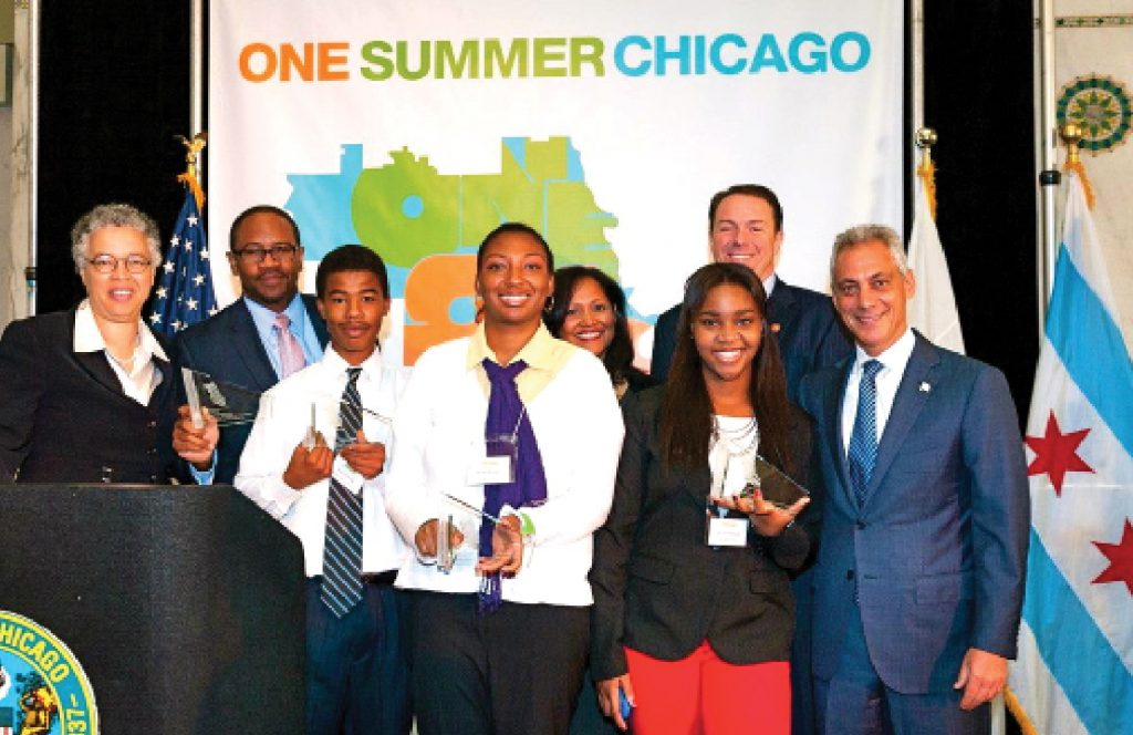 Game Changers: In its very first year, Roosevelt's BMLA wins a Game Changer award from the city of Chicago in 2014.