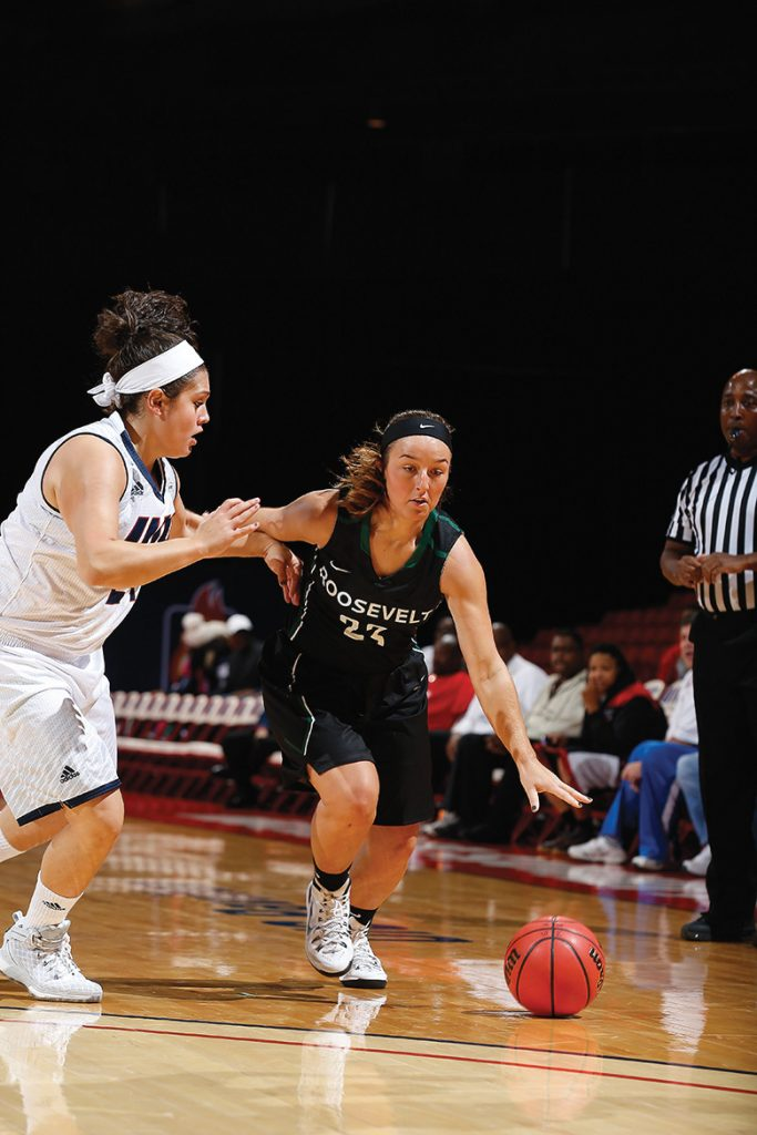 Paige Gallimore averaged a team-leading 16 points per game.