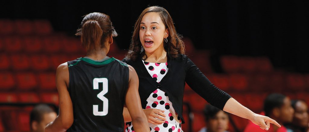 Roosevelt's women's basketball program goes forward with new head coach Keisha Newell