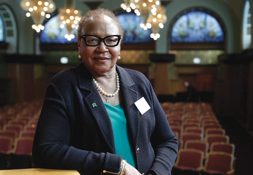 Patricia Harris, (BGS, '80) Retired Global Chief Diversity Officer, McDonald's Corp. Chair, Roosevelt Board of Trustees
