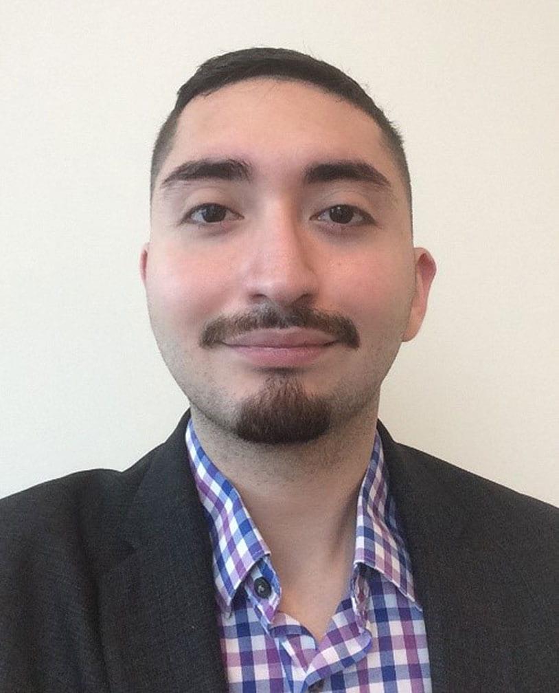 McNair scholar Alan Rojas