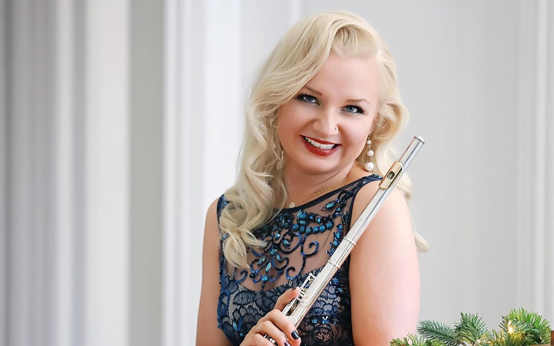 Flutist and CCPA graduate Anastasiya Ganzenko